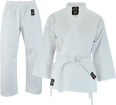 Bianco Arti Marziali Pantaloni Taglia 190 Malino Leggero Judo Pantaloni per Gli Uomini