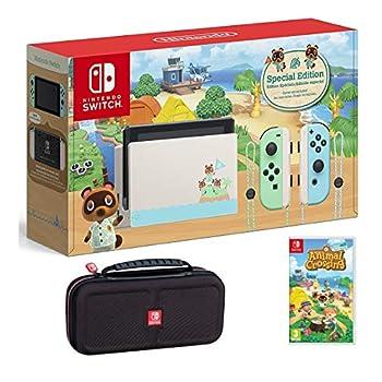Nintendo Change Bundle w/Recreation & Case: Nintendo Change Animal Crossing New Horizons Version 32GB Console, Animal Crossing New Horizons Recreation, Tigology Journey Case