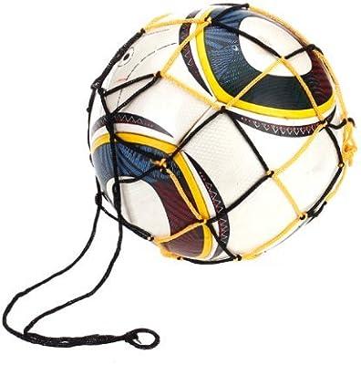 EXOH Nylon Mesh Ball Net Volleyball Football Basketball Carry Net Bag