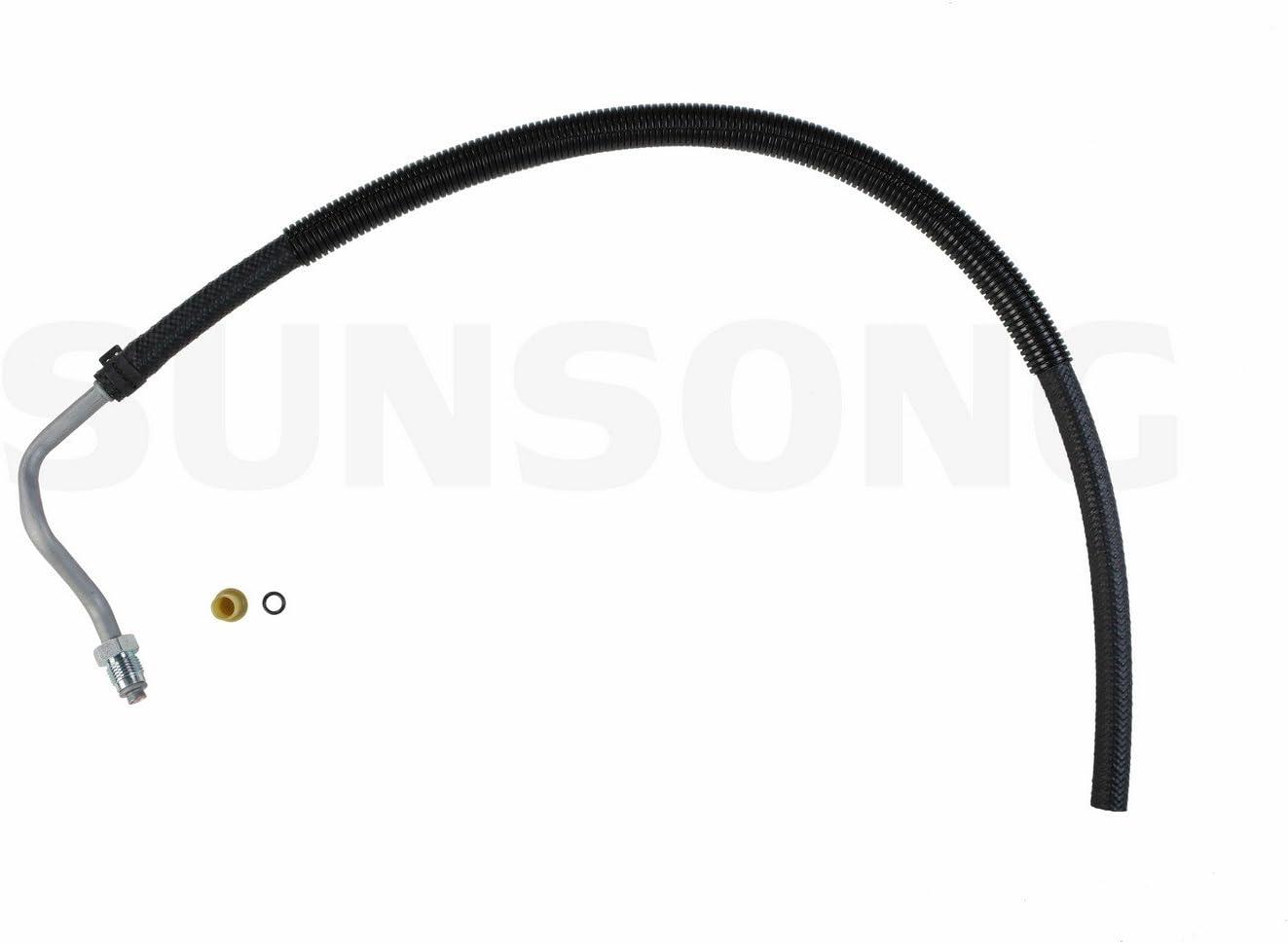 Sunsong 3401698 Power Steering Return Line Hose Assembly