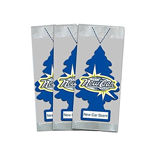 Little Trees Car Air Freshener 3-PACK (New Car Scent)