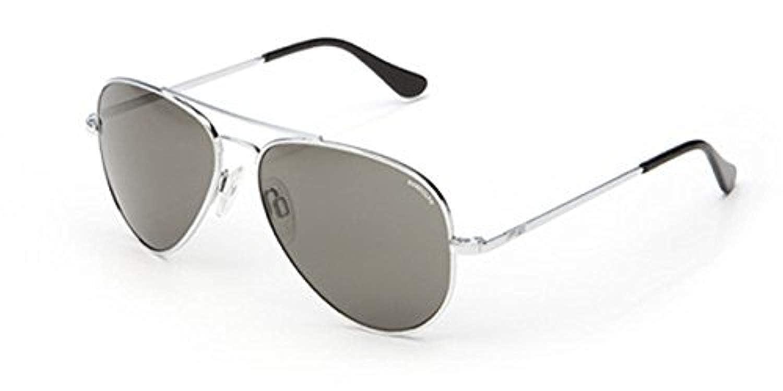 c2d8f3553e6 Amazon.com  Randolph Concorde Bright Chrome Bayonet Temple AGX Polarized  Sunglasses  Clothing