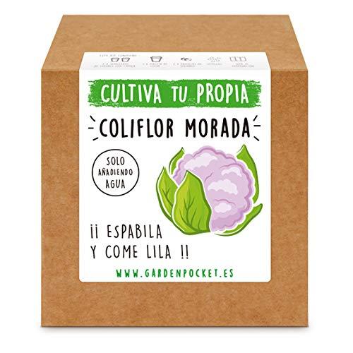 Garden Pocket - Kit Cultivo Coliflor Morada: Amazon.es: Jardín