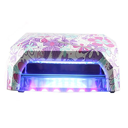 Perfect Summer Pro 36W LED/UV Nail Dryer Lamp Curing Light for Gel Nail Polish (Cute Clover Pattern)