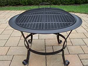 Oakland Living Round Fire Pit, 30-Inch