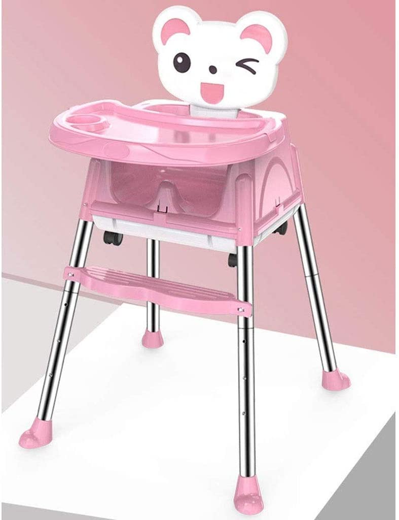Gzqdx Children S Dining Chair Booster Seat Children S Dining Table And Chairs Baby Dining Chair Baby Eating Dinette Child Seat Color Pink Amazon Co Uk Kitchen Home