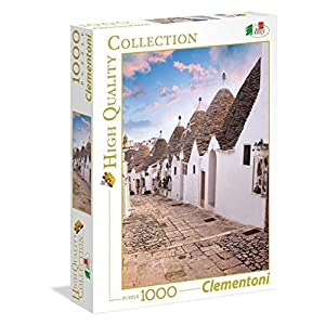 Clementoni 39450 High Quality Collection Puzzle Alberobello 1000 Pezzi