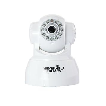 Wansview NCL-616W WiFi Wlan Pan Tilt IP Camaras de vigilancia con audio bidireccional,