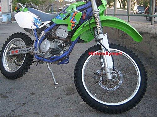 KLX250R 1994-1996 Fork Guards Protectors Plastic For Kawasaki KLX650 1993-1996