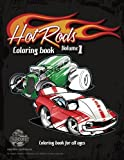 Hot Rods coloring book vol 1: cartoon coloring book for all ages