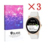 3X Fossil Q Wander Smartwatch Screen Protector Crystal...