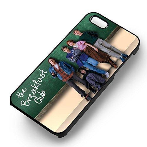 The Breakfast Club 2 pour Coque Iphone 6 et Coque Iphone 6s Case (Noir Boîtier en plastique dur) S4F9PJ