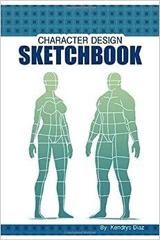 Character design sketchbook