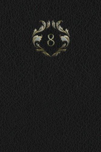"Download Monogram ""8"" Any Day Planner Journal (Monogram Black 365 Planner) (Volume 34) ebook"
