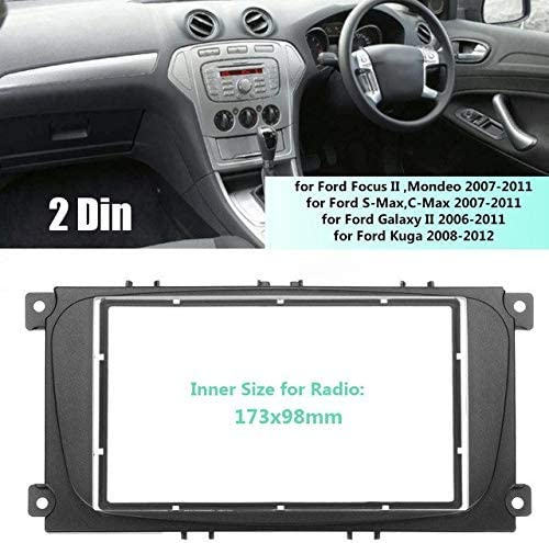 Double DIN Car Facia Kit for Ford Car Audio Stereo Radio Trim