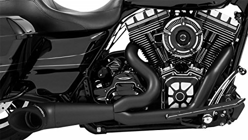 (Freedom HD00511 Exhaust (2 To 1 Turnout Pitch Black Series))