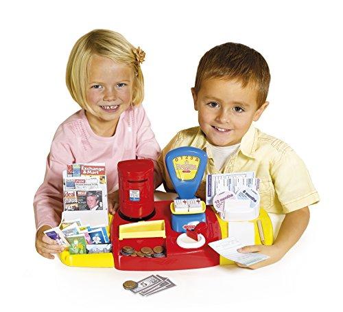 Casdon Little Shopper Mailbox Play Set (50 Piece), Red/Yellow/Blue
