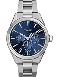 Timex Men's TW2P96900GP Style Elevated Silver Dial Wrist Watch