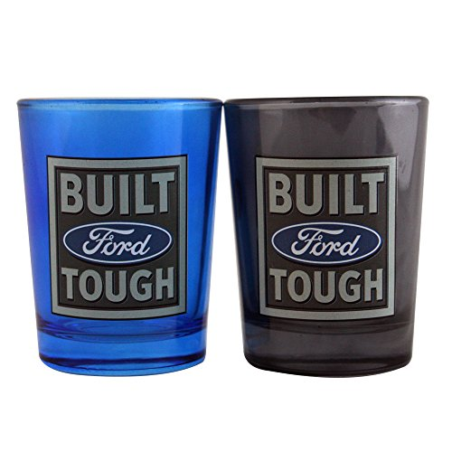 Ford Built Tough Oversized Shot Glass (Set of 2), 4 oz., - Glasses Ford