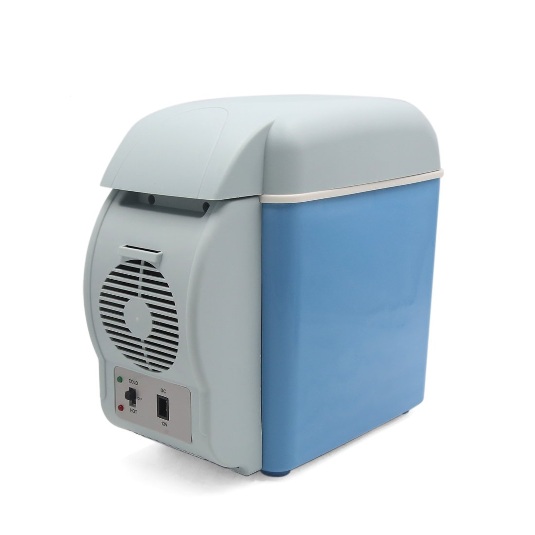 uxcell 7.5L DC 12V Drink Food Outdoor Mini Cooling Warming Refrigerator for Home Car