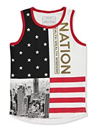"Parish Nation Little Boys' Toddler ""Gotham Patriot"" Tank Top"