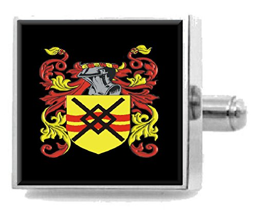 Select Gifts Anderson England Heraldry Crest Sterling Silver Cufflinks Engraved Box