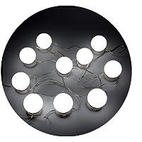 NUZAMAS Vanity Light Set, 10 Hollywood Style led-make-upspiegel voor make-uptafel met dimmer en USB-stekker, kabel 4,6 m…
