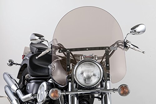 - Slipstreamer SS-30-17TFQ SS-30 17in. Classic Windshield with Chrome Hardware - Smoke