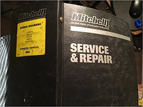Mitchell1 Service Repair Wiring Diagrams Domestic Vehicles 2002