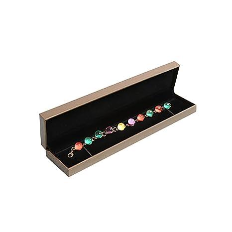 5ee4bfe8d JUNGEN® Caja de Pulsera Organizador de Joyero Joyas, Estuche de joyería con  Interior de