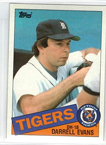 Baseball MLB 1985 Topps #792 Darrell Evans Tigers