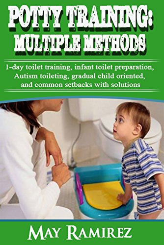 Potty Training: Multiple Methods: 1-day toilet training, autism toileting, infant toilet preparation, gradual child oriented, and common setbacks. proven ... to train backed by scientific (Short Setback)