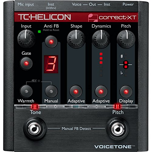 TC Electronic VoiceTone Correct XT Voice Processing and Pitch Correction Floor Pedal