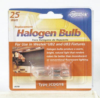 Halogen Replacement Bulb, 25 Watt