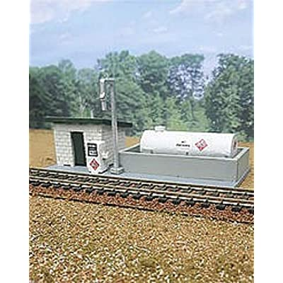 Osborn Models N Scale Diesel FUELING Station EZ Assembly Kit New Ite3122: Toys & Games