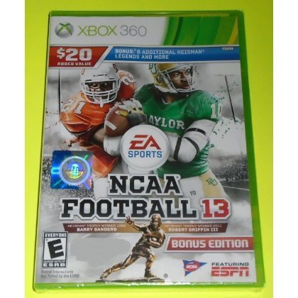 NCAA Football 13 - Xbox 360  ... by EA Sports
