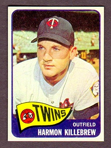 Harmon Killebrew 1965 Topps Baseball Reprint Card (Minnesota Twins)