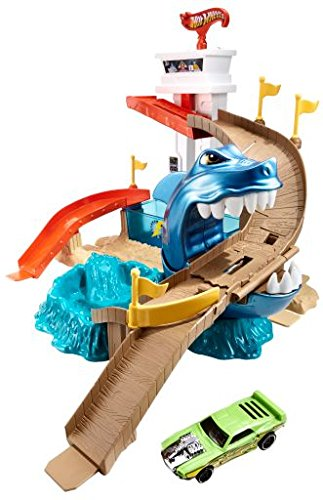 Hot Wheels Color Shifters Sharkport Showdown Trackset image