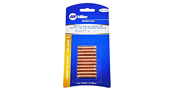 Miller 135427 Tip Contact .030//36 Wire 10 pack