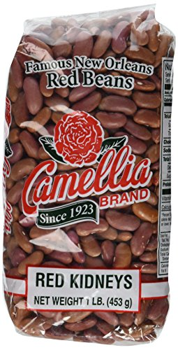 Camellia Famous New Orleans Red Beans - 16 Ounce Bags (Six Pack)