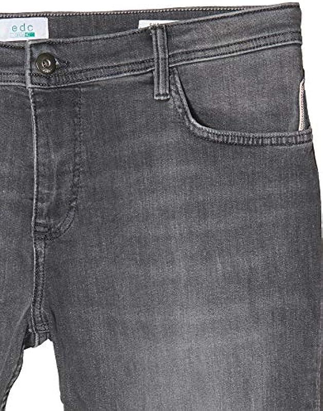 Edc by Esprit jeansy męskie skinny Fit - Skinny 34W / 32L: Odzież