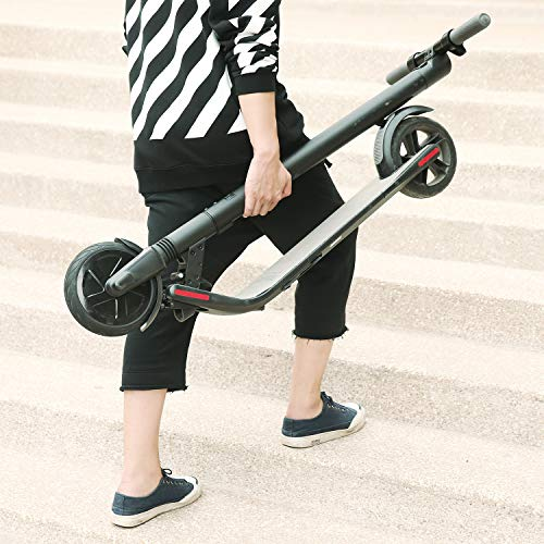SEGWAY ES1| eScooter- High Performance, 8-Inch Front and 7.5-Inch Back tires, up to 15.5 of Range and 12.4 of mph of Top Speed, Cruise Control, Easy to Clean Foot Pads