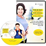 Evergreen Wellness Presents: The 28 Day Size Down Challenge Workout - Full Body Exercise and Fitness Program DVD for Beginners and Adults Over 50