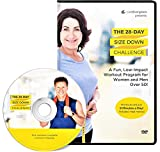 The 28 Day Size Down Challenge Workout DVD for Beginners and Seniors - Full Body, Low Impact...
