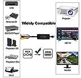 RCA to HDMI Converter Dingsun