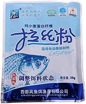 BLOUR 1 Bolsa de proteína de Fibra Secreta Adhesivo Cebo de ...