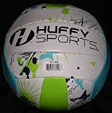 Huffy Sports Volleyball Swimming Pool Volleyball Standard Size Paint Splat Graphics (Paint Splat)