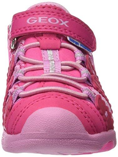Geox B Sandal Multy Girl B, Botines de Senderismo para Bebés Rosa (DK FUCHSIAC8321)