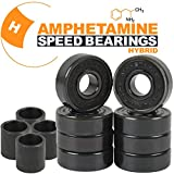 Amphetamine HYBRID CERAMIC Skateboard Ball Bearings