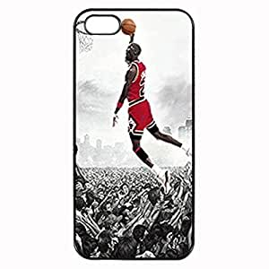 Michael Jordan Custom Image For SamSung Note 4 Phone Case Cover Diy pragmatic Hard For SamSung Note 4 Phone Case Cover High Quality Plastic Case By Argelis-sky, Black Case New